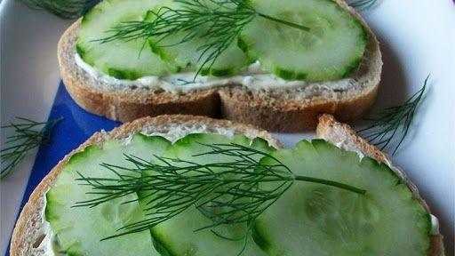 waar is komkommer goed voor - sandwich