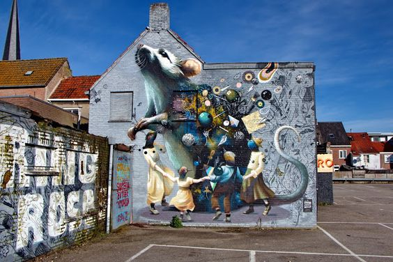 wat te doen in breda - street art